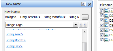 Control zero padding in date and time based tags